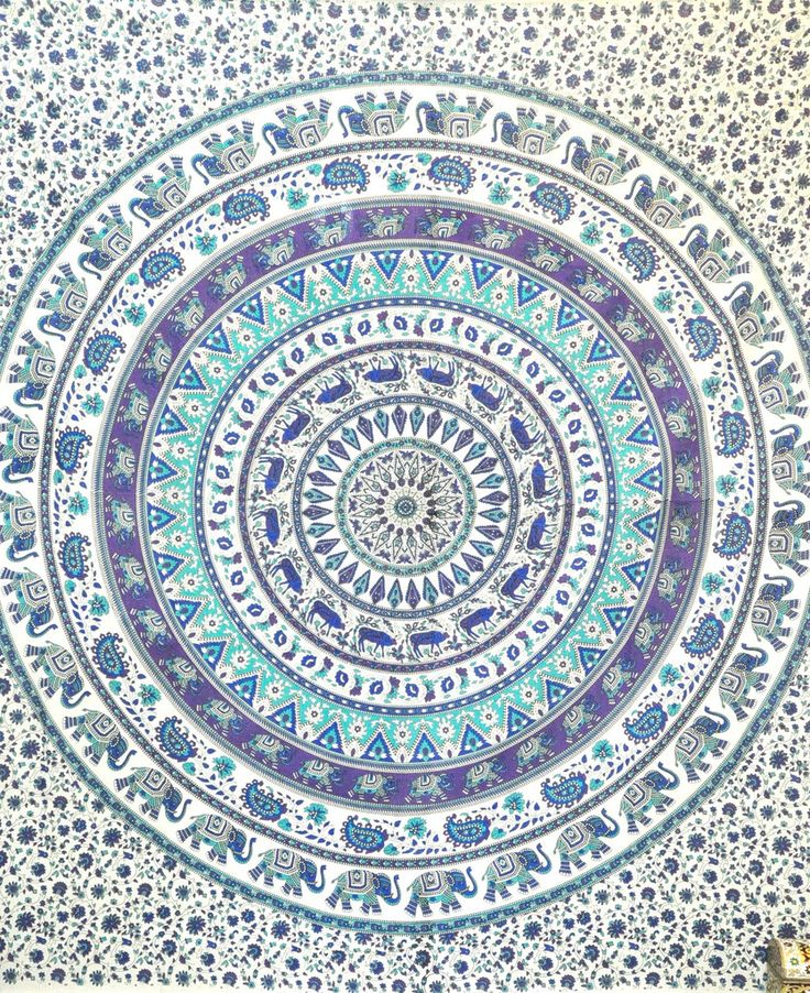 Hippie Mandala Tapestry elephant Tapestries Wall Tapestries Indian Tapestry Bohemian Bedding Psychedelic Tapestry