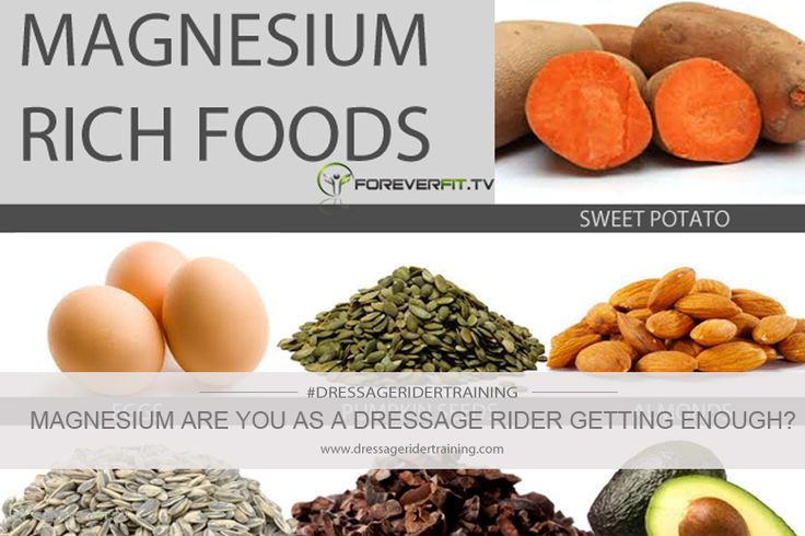 Magnesium are you as a dressage rider getting enough