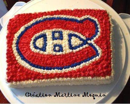 Gateau Canadiens de Montréal