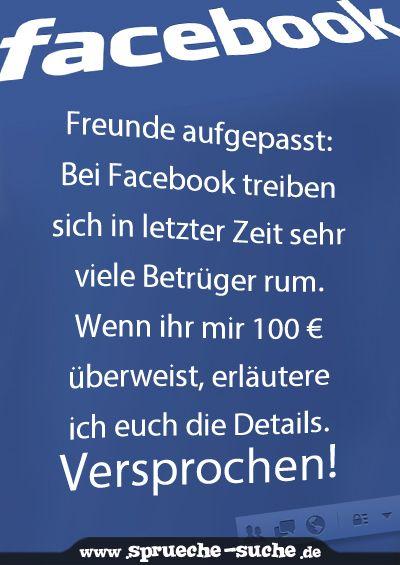Freunde aufgepasst: Bei Facebook treiben sich in letzter Zeit sehr viele…