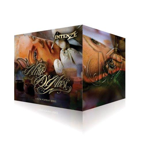 KIT MIKE DEMASI COLOR PORTRAIT INTENZE 1ONZ $3,500 www.artetatuaje.mx ventas@artetatuaje.mx