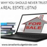 Why You Should Never Trust A Real Estate Listing