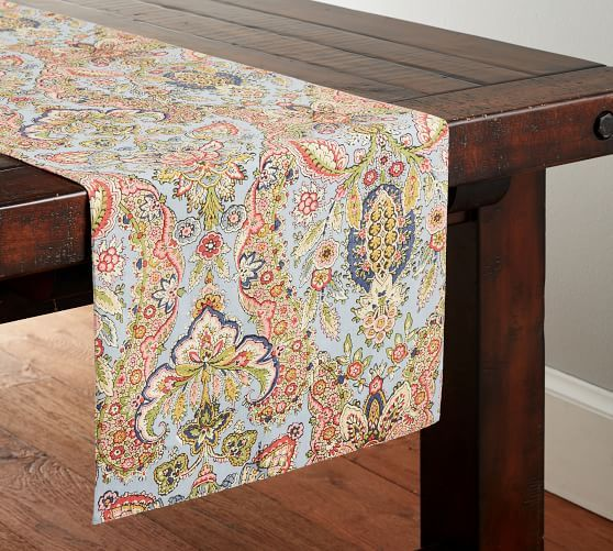 Florentine Paisley Table Runner Table Linens Table