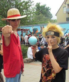 Ruffy Naruto Cosplay