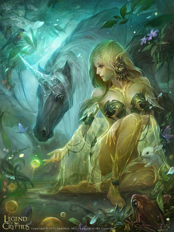 """Elf princesss - Regular"" by 子君_zinna Du (zinnaDu) | Legend of the Cryptids | #Fantasy #Elves"