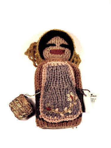 muñeca chilota con canasto | por macaselknam