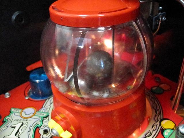 Bola de chicles de la pinball Twilight Zone