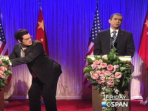 Obama Hu Jintao 'SNL' G-20