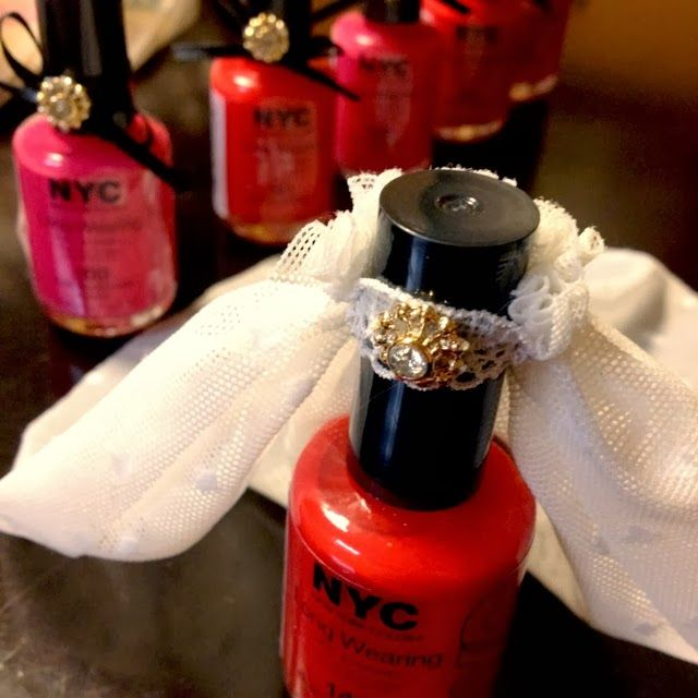 Bachelorette Party Favors Turn Inexpensive Nail Polish Into Something Really Special