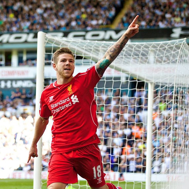 Spurs 0 LFC 3, 31.8.14. Goal of the game from Alberto Moreno