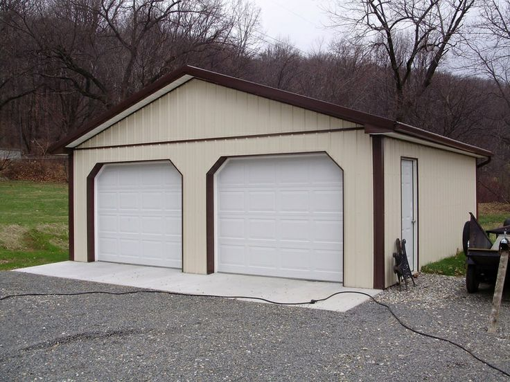 Pin by pioneer pole buildings inc on residential pole for 12 x 7 garage door price
