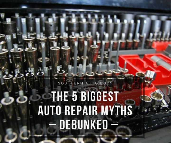 Accidents happen but being prepared can help make the repair process go a lot smoother. Here are the top 5 auto repair myths out there: 1) Your insurance company chooses the auto body shop 2) Only the dealership can return your vehicle to like-new condition 3) Your insurance company will always cover all damage and repair costs 4) Your car will never be the same 5) There is no warranty if you choose your own body shop   Find out the truth about these myths: http://ift.tt/2A78Ana…