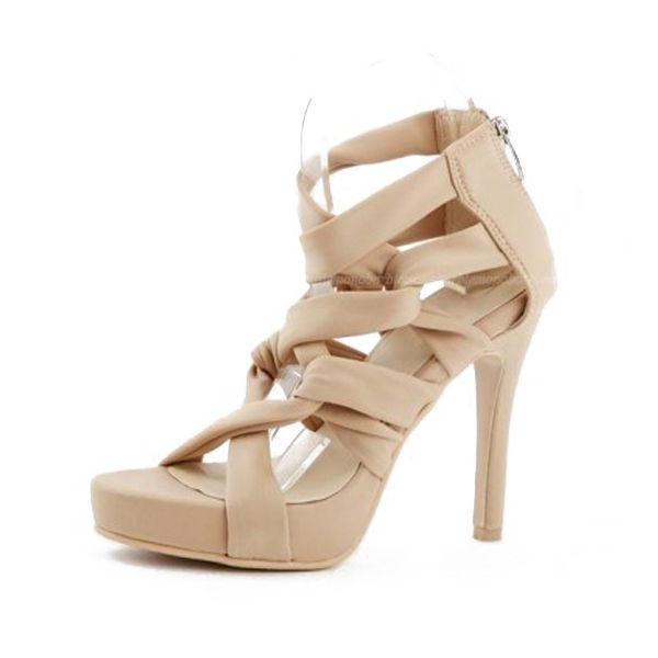 Aldo Womens stati-93 peep toe Ankle Wrap D-orsay