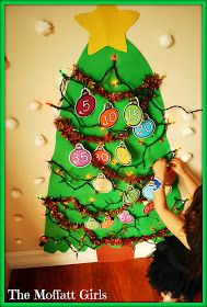 The Moffatt Girls: Christmas Learning Day #1 and a FREEBIE!