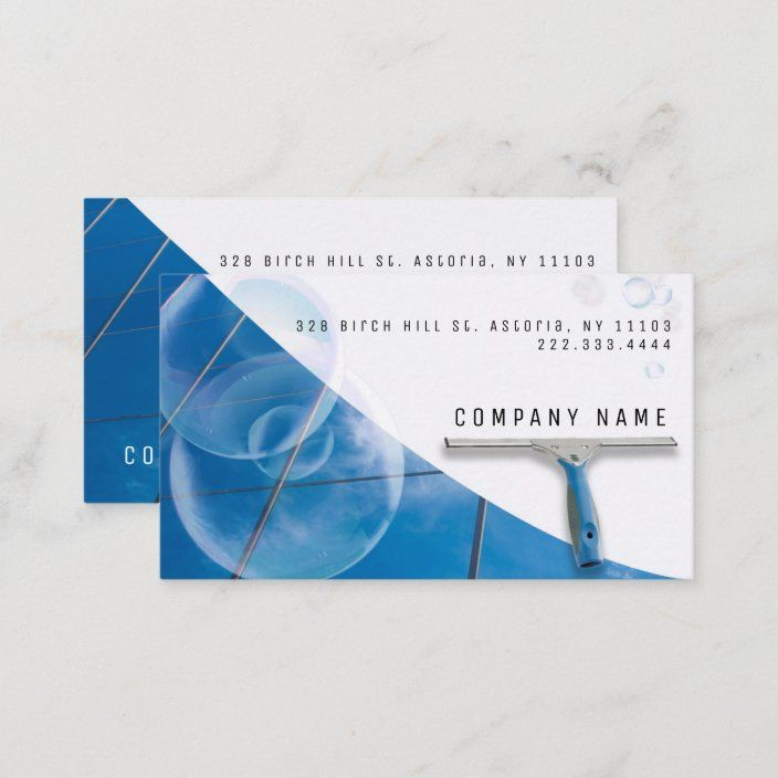 High Buildings Window Cleaning Service Company Business Card Zazzle Com In 2021 Company Business Cards Window Cleaning Services Cleaning Services Company