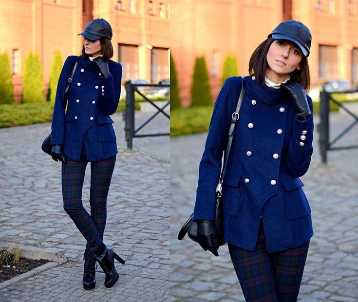 cool Укороченное пальто женское (50 фото) — С чем носить и ...