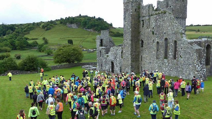 Fore Abbey to Mullingar Cathedral Camino 2015