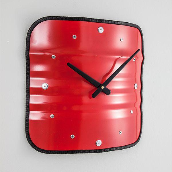 2. Uhren - Clockwork Orange... Red, White and Black - ein Designerstück von Lockengeloet bei DaWanda