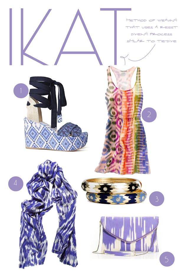 Timeless Ikat... Read more at http://whyoffashion.com/timeless-ikat/
