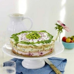 Smörgåstårta med rostbiff och pepparrot - recept - Mitt kök
