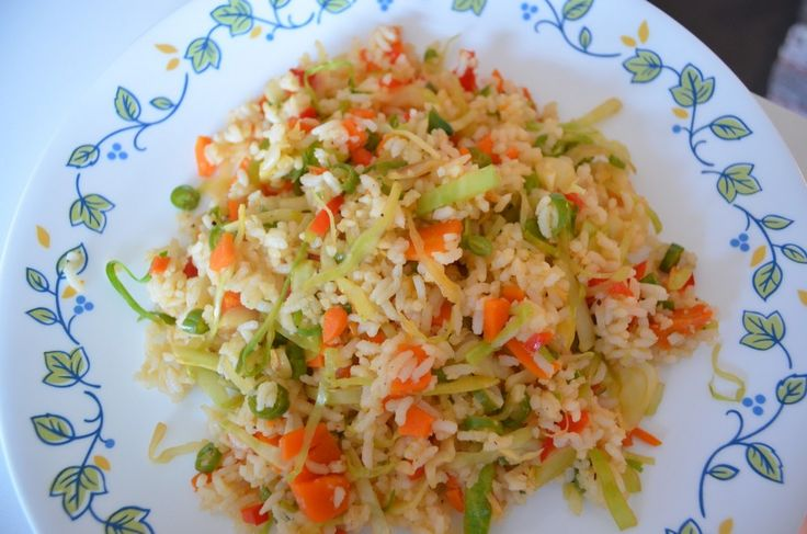 yummy fried rice:)