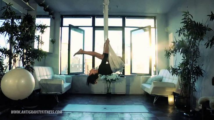 Aerial Yoga Hammock Techniques by Antigravity Master Instructor Renae Stevens