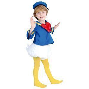 【コスプレ】 RUBIE'S(ルービーズ) DISNEY(ディズニー) コスプレ Child Donald(ドナルド) Sサイズ - 拡大画像