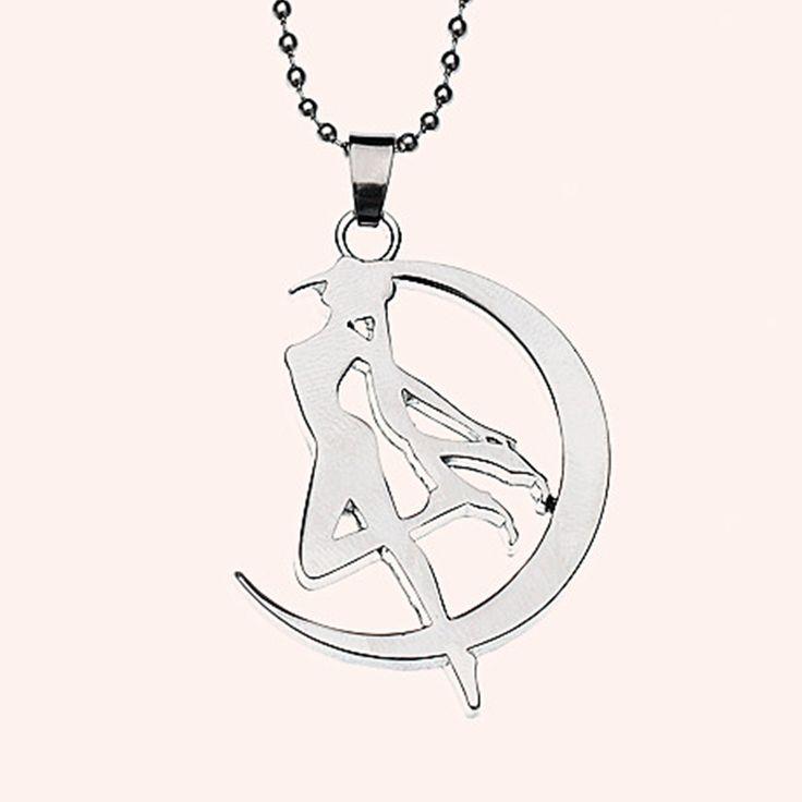 Cosplay Anime Sailor Moon Tsukino Usagi Necklace Metal Pendant Chain Kawaii Gift For Women And Girl