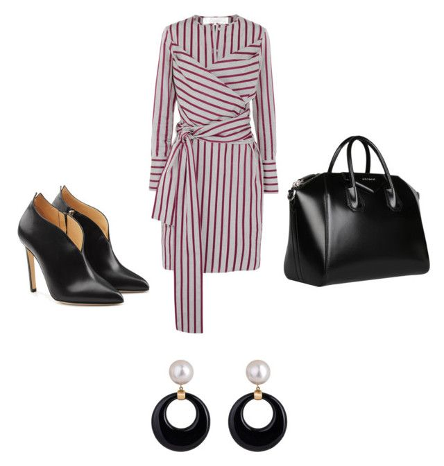 Asymmetrical Monday by styles-bykim on Polyvore featuring polyvore fashion style Victoria, Victoria Beckham Chloe Gosselin Givenchy clothing