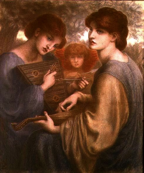 blessed damozel analysis A criticism is presented on the serbian poet, medical doctor and humanist svetislav stefanoviä‡'s translation to the serbian language of the 19th english poem the blessed damozel (blaå¾ena deva), by dante gabriel rossetti.