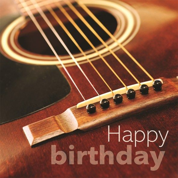 Acoustic Guitar Wallpaper For Facebook Cover With Quotes: Happy Birthday Guitar Image - Google Search