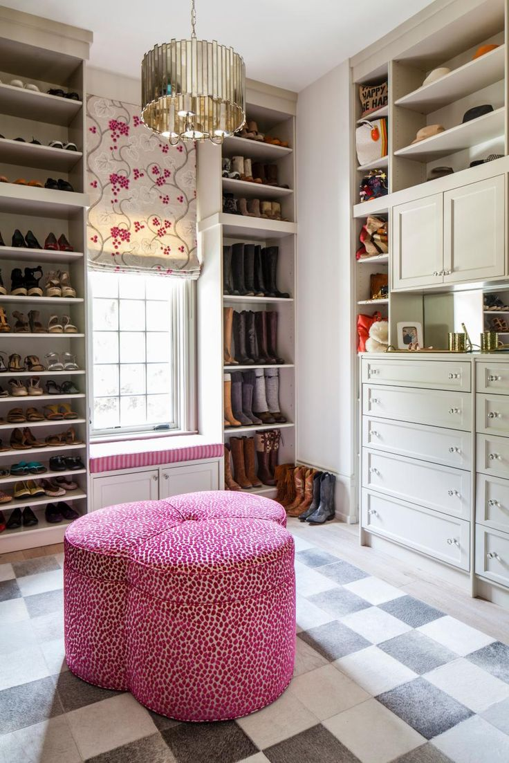 Boutique style walk in closets