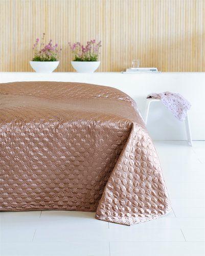 Ágytakaró FAGERKLOKKE 160x220cm barna | JYSK
