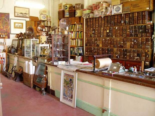 Heath's Old Wares near Byron Bay