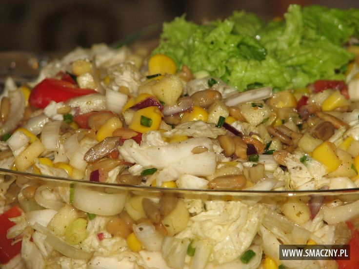 Słonecznikowa sałatka do grilla - zdjęcie 3