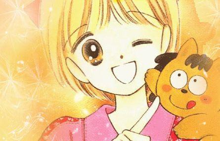 "Himeko and Pokota, from ""Hime-chan no Ribon"""