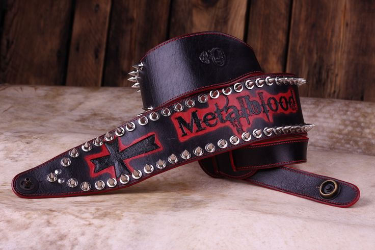 Custom strap for bass guitar