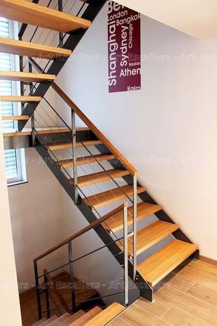 17 meilleures id es propos de escalier 2 quart tournant sur pinterest gar - Escalier design pas cher ...