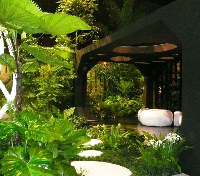Tropical Backyard Ideas Australia: 17 Best Ideas About Small Tropical Gardens On Pinterest