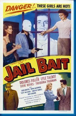 Jail Bait Movie Poster 24inx36in