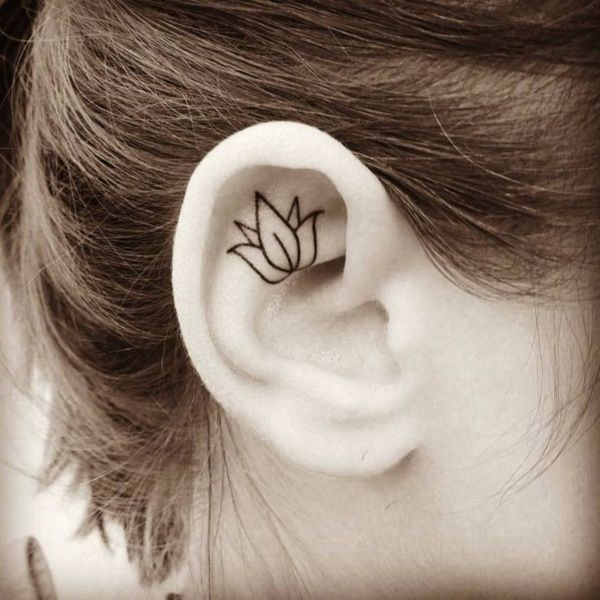 55 Pretty Lotus Tattoo Designs: Best 25+ Lotus Tattoo Design Ideas On Pinterest
