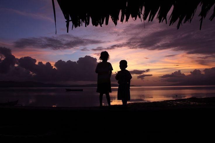Sunset - Ihamahu, Saparua (Moluccan Islands)