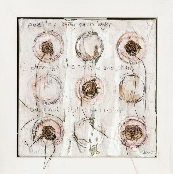 Still Small Voice Mixed Media on Canvas Tess Ainley