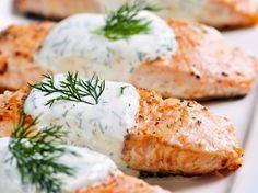 Συνταγές Υγιεινής Διατροφής : Σολωμός με Λεμόνι και Τυρί Κρέμα