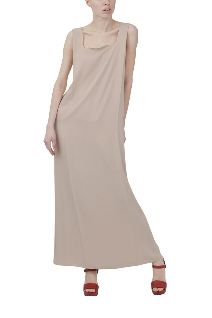 MM6-Maison Martin Margiela-tote maxi dress