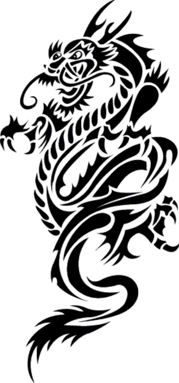 japanese dragon tattoo - Google Search