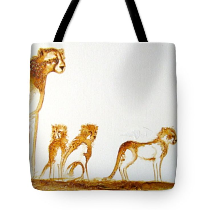 """Lookout Post Tote Bag 18"""" x 18"""" by Tracey Armstrong"""