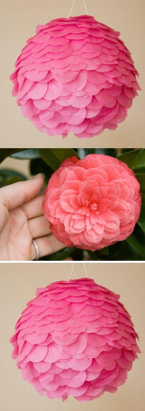 Очень красивая розовая люстра