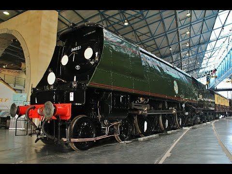 Winston Churchill 'Final Journey' Funeral Train Exhibition at the NRM York 4th February 2015 - 4 mins 57 secs