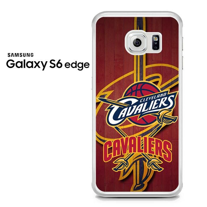 Cleveland Cavaliers Logo Wood Samsung Galaxy S6 Edge Case